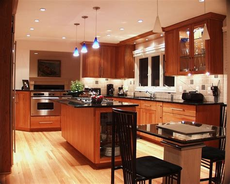 Warm Contemporary  Contemporary  Kitchen  Detroit By