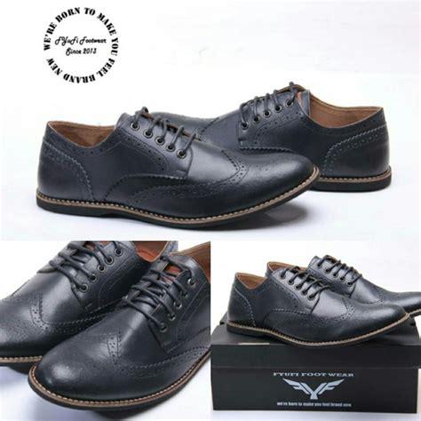 jual sepatu casual pria sepatu kerja sepatu formal sepatu kulit fyufi footwear wingtip