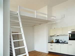 Bild 12 hochbett hochetage mit treppe einrichtung for Hochbett mit treppe