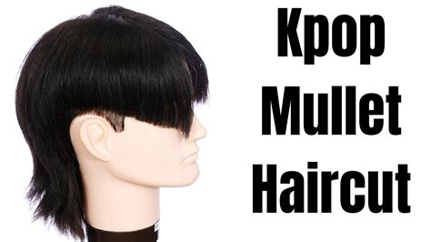 pop mullet haircut tutorial thesalonguy  hairdressing
