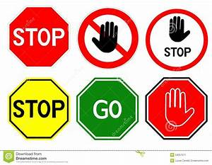 Stop And Go : stop signs stock illustration image 54057071 ~ Medecine-chirurgie-esthetiques.com Avis de Voitures