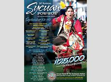 24TH ANNUAL SYCUAN POWWOW IS SEPT 13 – 15 East County