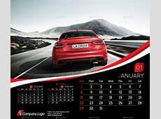 2018 Desk Calendar Template by La_Croix GraphicRiver