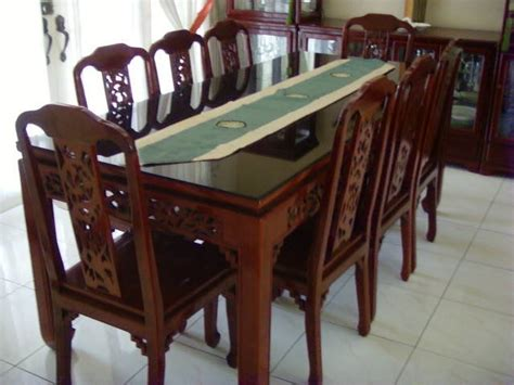 8 seater dining table cabinet for sale from manila