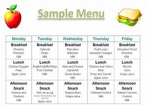 best 25 daycare menu ideas on pinterest daycare meals With daycare food menu template