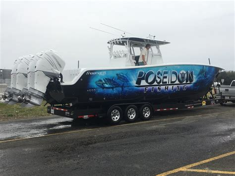 Freeman Boats With Seven Marine by The Baddest Freeman 37vh To Hit The Water The Hull