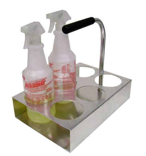 spray bottle rack spray bottle caddy l spray bottle holder