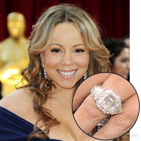 how does mariah carey wedding ring looks like