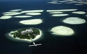 the world is sinking dubai islands falling into the sea