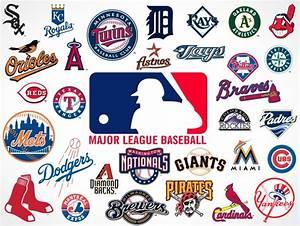 Major League Baseball Team Logos • Market Your PSD Mockups ...
