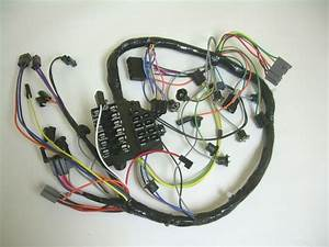 1961 Impala Under Dash Wiring Harness With Fusebox