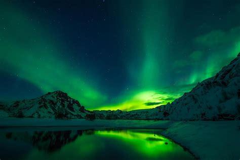 nordlichter sehen  der besten orte  europa wo sie