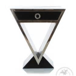 design de table de chevet design noir delta saulaie