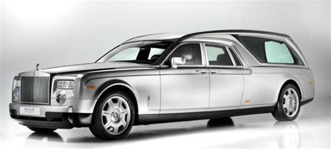 rolls royce phantom hearse  worlds  expensive final
