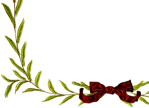 simple christmas wreath frame images  graphics fairy
