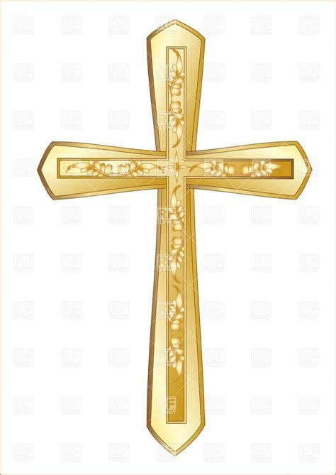 Cross Clip Gold Cross Clip Clipart