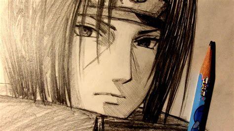 asmr pencil drawing  itachi uchiha request youtube