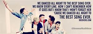Facebook Cover Photos - One Direction Best Song Ever ...