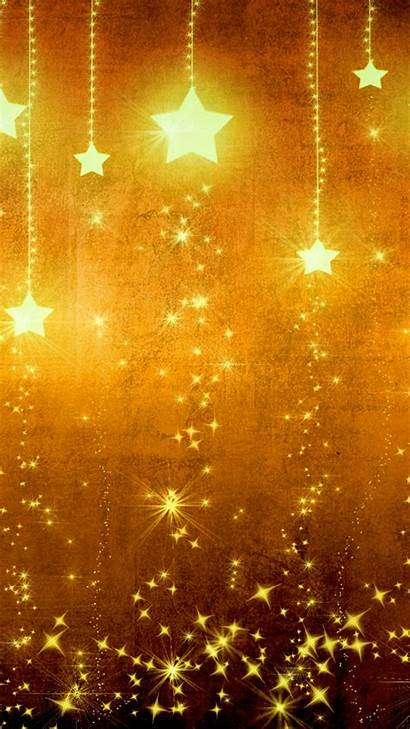 Background Holiday Gold Yellow Star Iphone Texture