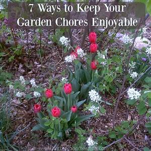 7 Ways to Keep Your Garden Chores Enjoyable