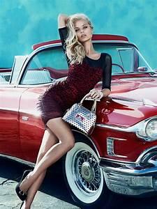 sandrah dioni in guess 39 fall 2013 accessories ads