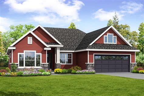 traditional ranch house plan  bonus room da architectural designs house plans