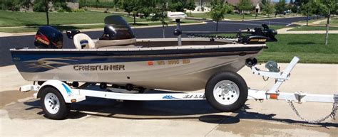 Crestliner Boat Trailer Lights by 2001 Crestliner 1650 Fish Hawk