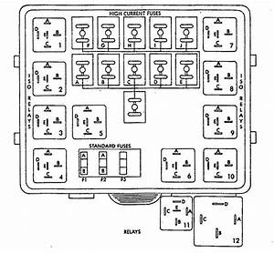Eagle Vision  1993 - 1994  - Fuse Box Diagram
