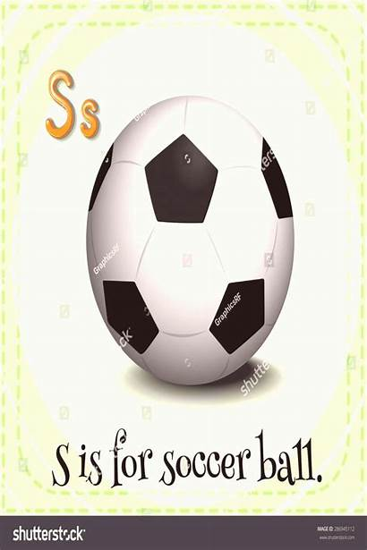 Ball Soccer Flashcard Letter Trend20us Makalenin Kaynağı