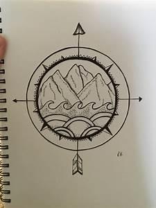 mountain-drawing   Tumblr