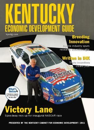 kentucky cabinet for economic development kentucky economic development guide 2011 by journal