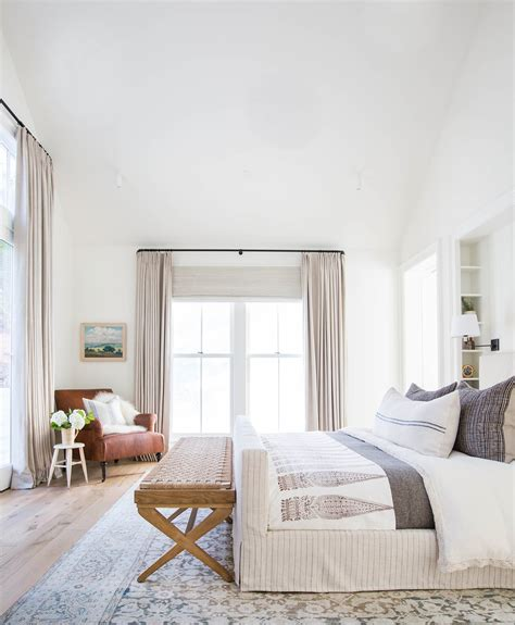 Copy Cat Chic Room Redo  Layered Neutral Bedroom