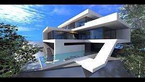 Minecraft Speed Build! EPO2 - Modern house 1! - YouTube  Modern
