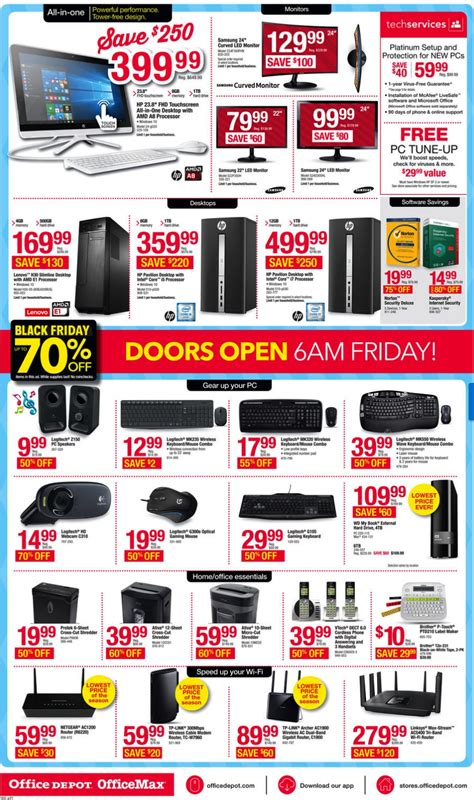 Office Depot Hours Black Friday by Office Depot And Officemax On Black Friday 2017 Funtober