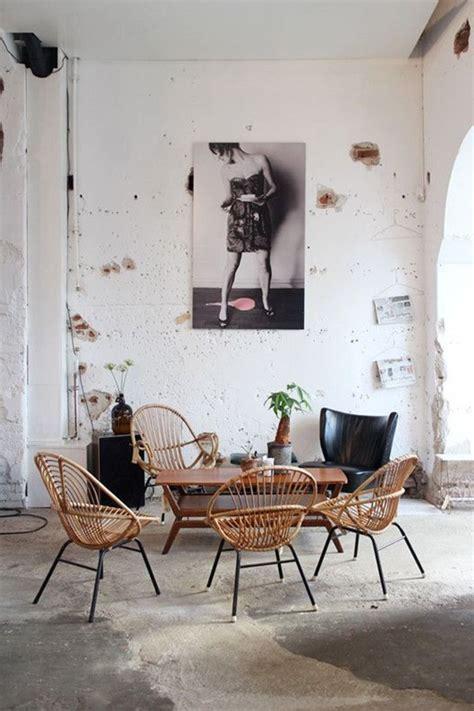 chaise de cuisine confortable le fauteuil en rotin les meilleurs modèles
