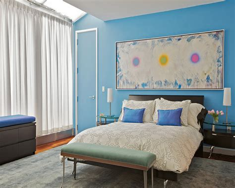 decoration for small rooms blue bedroom wall paint color