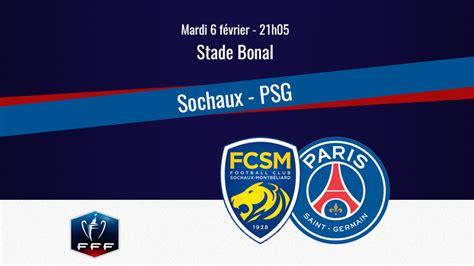 Match : Sochaux/PSG, diffusion, commentateurs et ...