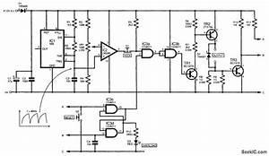 Pwm Model Railroad Controller - Control Circuit