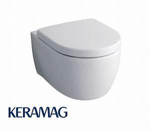Keramag Icon Tiefspül Wc : keramag icon tiefsp l wc 6 l mit keratect impulsbad ~ Buech-reservation.com Haus und Dekorationen