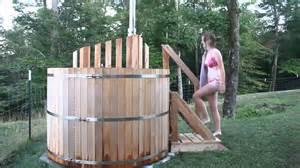 build wood fired sauna