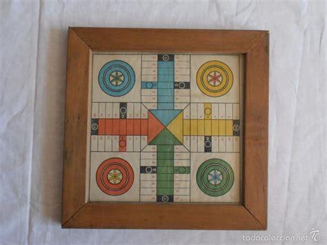 Antiguo juego de la oca y parchís. juego parchis ajedrez antiguo marco madera tama - Comprar Juegos de mesa antiguos en ...