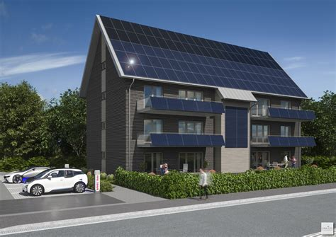 Erstes Energieautarkes Mehrfamilienhaus In Niedersachsen architekturblatt erstes energieautarkes mehrfamilienhaus