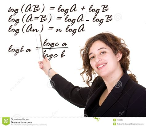 female maths teacher image of clever algebra