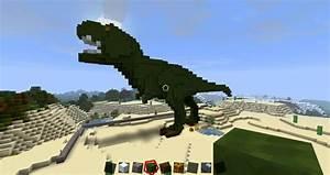 Minecraft T-rex Gallery