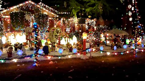 Christmas Tree Lane Pasadena Hastings Ranch by Christmas Lights In Pasadena Youtube