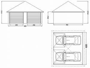 Garage 2 Voitures : plan pour garage 2 voitures l 39 impression 3d ~ Melissatoandfro.com Idées de Décoration