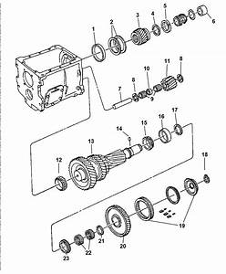 1997 Dodge Ram 2500 Gear Train Of Manual Transmission