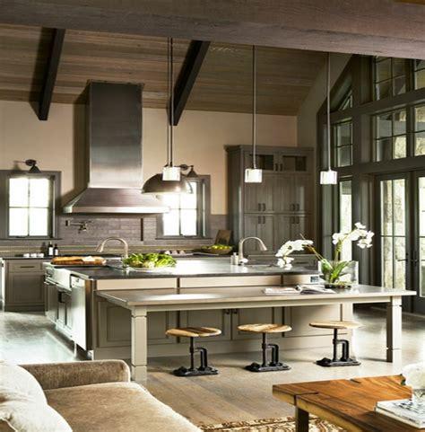 tabouret bas cuisine tabouret bar industriel cuisine loft accueil design et