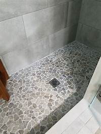 best tile for shower Best 25+ Shower floor ideas on Pinterest | Pebble shower floor, Master bathroom shower and ...