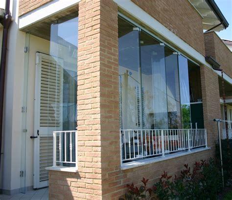 veranda in vetro pareti in vetro sistemi ad impacchettamento vetreria a